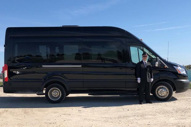 Luxury Mini Coach Bus