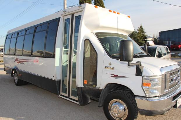 Traditional Mini Coach Bus